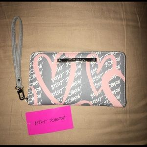 Betsey Johnson wallet/wristlet